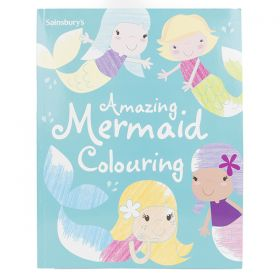 Sainsbury's Amazing Mermaids Colouring Book