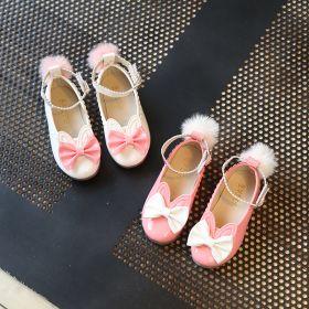 SEPATU ANAK PRINCESS BUNNY FLAT SHOES - Pink