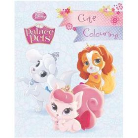 Disney Princess Palace Pets Cute Colouring