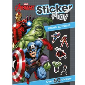 Marvel Avengers Sticker Play: Mighty Activity, Over 60 stickers!
