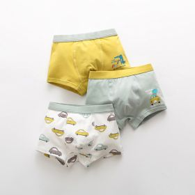 BOXER ANAK LAKI-LAKI / BOY BOXER (3 PCS SET) - CAR DINO
