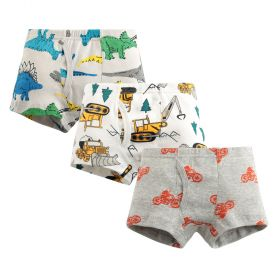 BOXER ANAK LAKI-LAKI / BOY BOXER (3 PCS SET) - CONTRUCTION, DINO, MOTORCYCLE