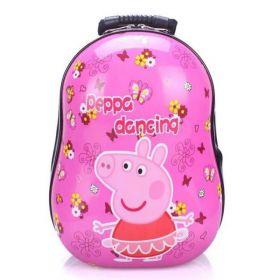 SALE! Hard Shell Back Pack - Peppa Pig Pink Dancing