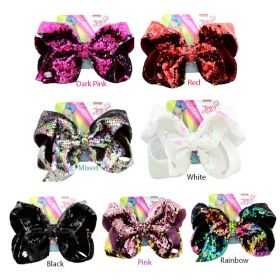 Jojo Siwa Big Bow Hair Clip - Reversible Sequin