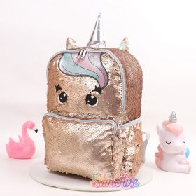 TAS RANSEL SEQUIN GOLD UNICORN STARFIVE - LARGE