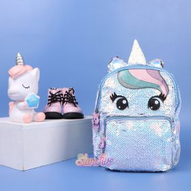 TAS RANSEL SEQUIN UNICORN SMALL STARFIVE - WHITE