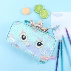 TEMPAT PENSIL JINJING CARRY ON SEQUIN KOTAK STARFIVE - MERMAID TOSCA