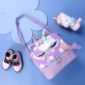 LUNCHBOX SEQUIN 2 SUSUN STARFIVE - PURPLE UNICORN
