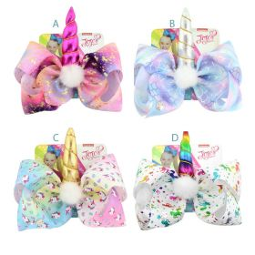 Jojo Siwa Big Bow Unicorn Hair Clip