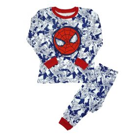 LONG SLEEVE SET 4T - 10T - Blue Spiderman Mask